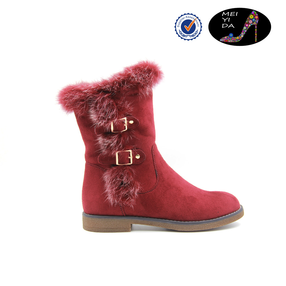 2015 Newest lady shoes fashion women boot low heel short boots