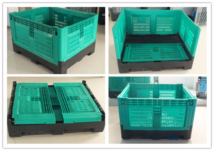 Large Warehouse Plastic Storage Bin Used Industrial