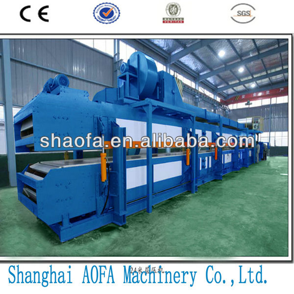 good quality and cheapest PU sandwich panel roll forming machine/production line