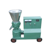 Small biomass wood sawdust pellet making machine for home use