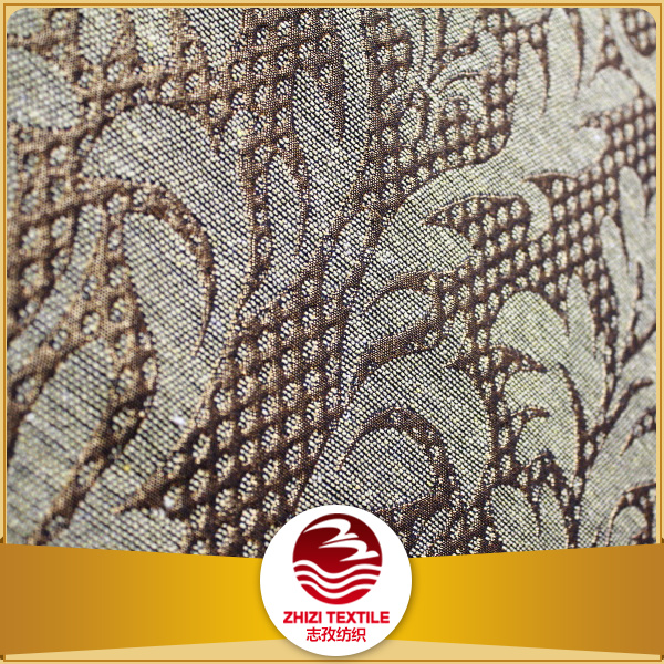 2017 Fashion design Canton fair jacquard upholstery fabric, suitable for making sofa, curtain, cushion, bed sheet, quilt, etc.