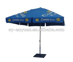 China umbrella supplier 4m big commercial outdoor umbrella with flap