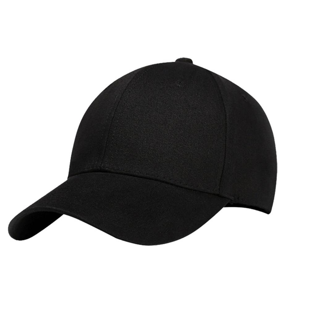Cotton 6 Panel Black Custom Baseball Cap <strong>Hats</strong> Without Logo