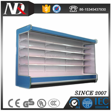 Single-temperature commercial display refrigerator remote style