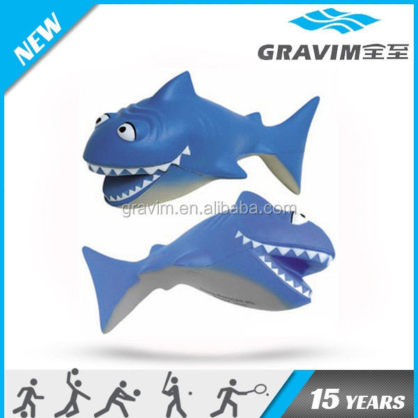 Eco-friendly shark anti stress ball