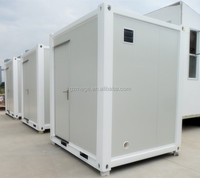 Prefabricated mini outdoor bathroom unit