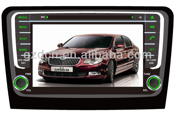 car dvd player for SKODA Rapid 2013- WS-9460
