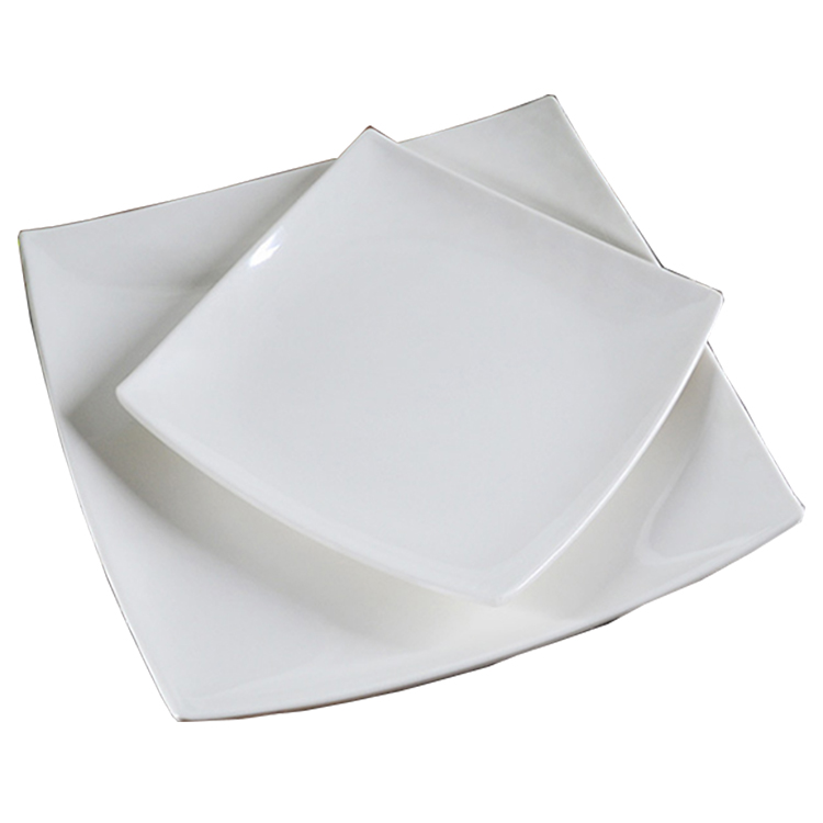 Restaurant Diffe Size White Square