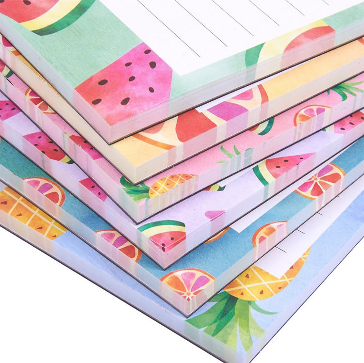 Factory Supply Loose Leaf Magnetic Shopping List Notepad