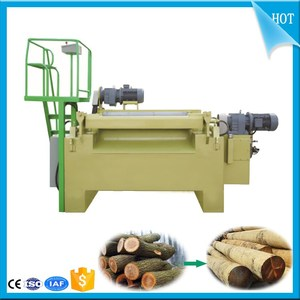 Automatic Wood Cutting Machine rotary peeling and cutting combined plywood machine