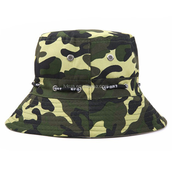 abac7d913b2 Cheap Camouflage Adjustable Summer Outdoor Fishing Camping Bucket ...