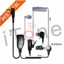 radio's headset new Mic radio earpieces PPT two way radio earphone for Baofeng Motorola portable radio earphones radio's headset