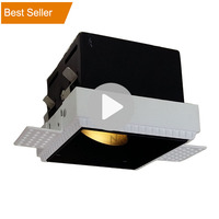 Wholesale Square Gu10 Dimmable Trimless Recessed Led Downlight