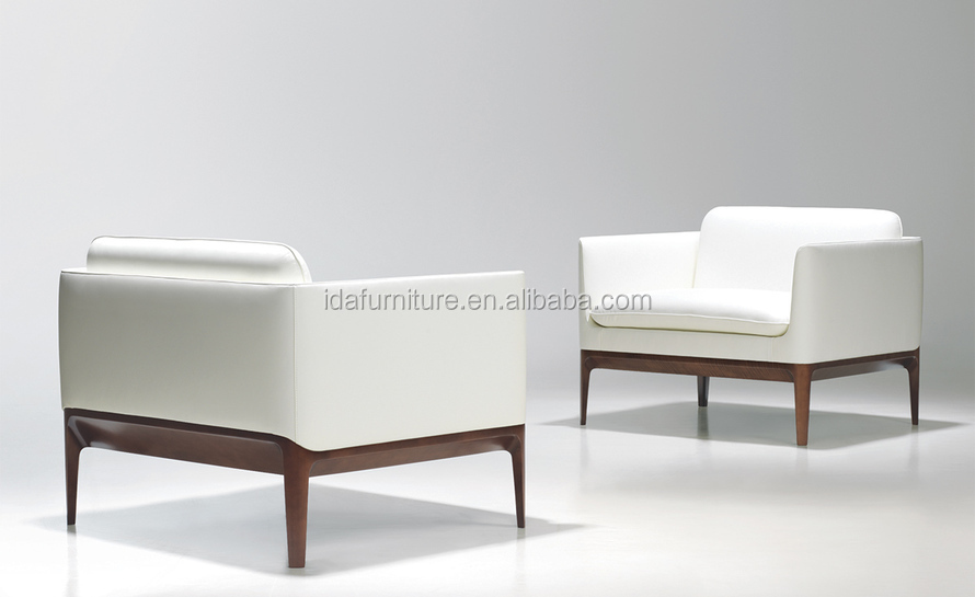 atlantic lounge wood chair modern genuine leather chair