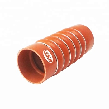 Ca 5 bellows 6 rings aramid fabric reinforced corrugated silicone turbo hose tube