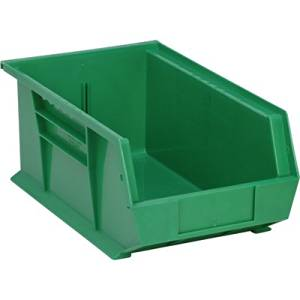 Delicieux Get Quotations · Quantum Storage Heavy Duty Ultra Stacking Bins   13 5/8in.  X 8