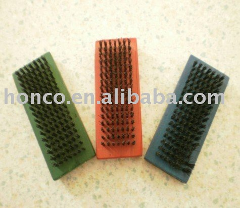 Hot selling 428 wooden shoe brush with low price
