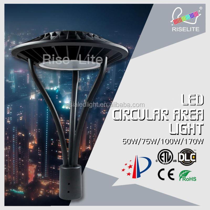 w de potencia de energa calle poste de luz led de jardn al aire libre