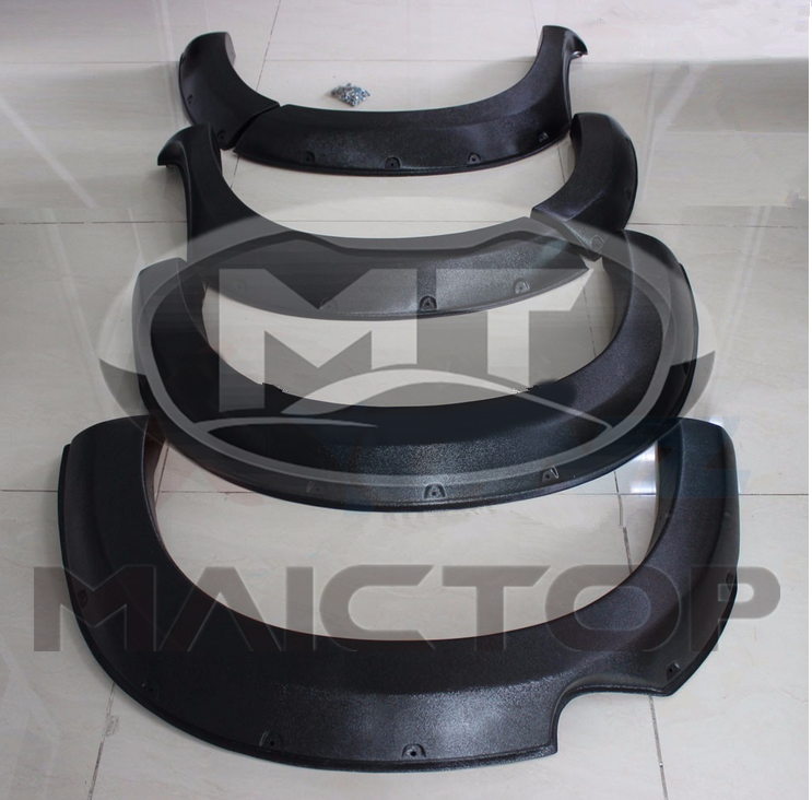 Automobile 2012-2014 Fender Flare For Toyota vigo From High Quality ABS Material