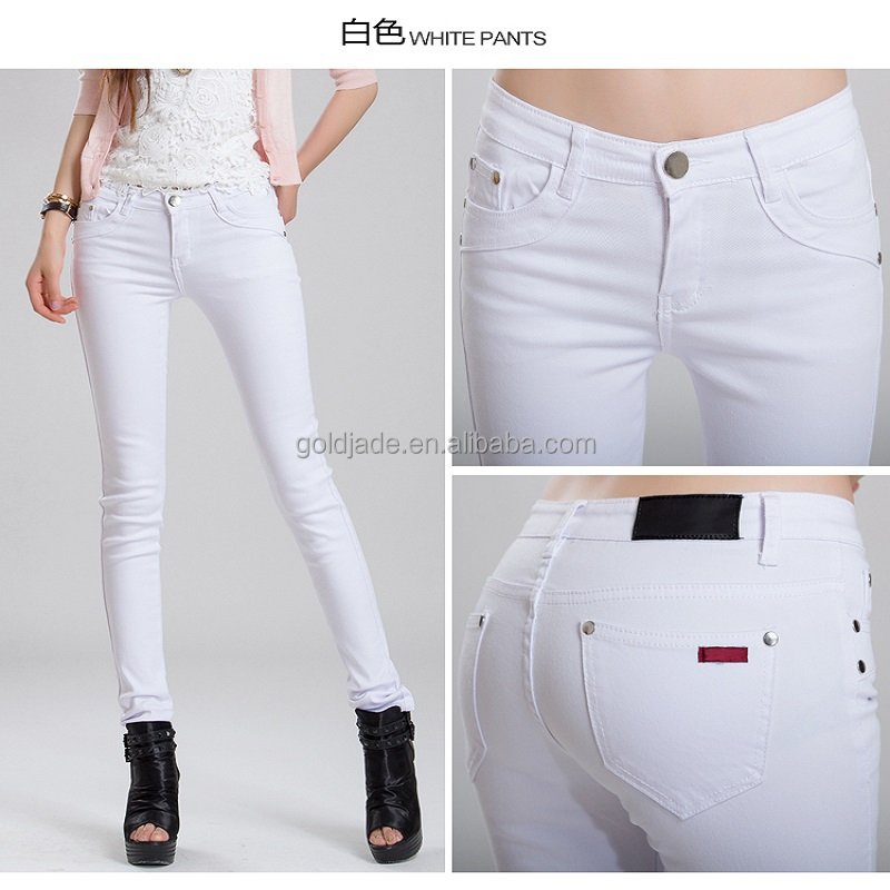sexy jeans white