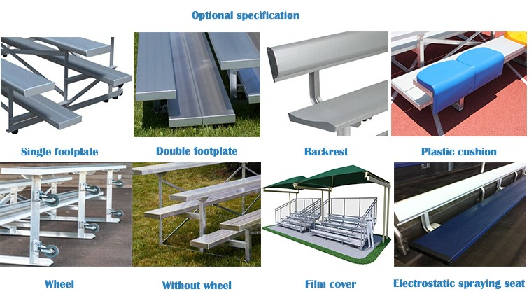 Metal Stadium Seats : Mc f stadium chair outdoor metal structure grandstand