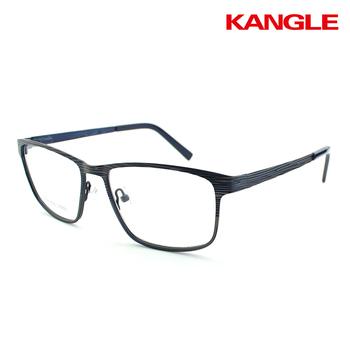 Women Prescription Glasses Half Rim Metal Stainless Steel Optical ...