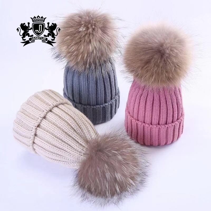 e9105a9b Custom Fur Pom Pom Hat, Custom Fur Pom Pom Hat Suppliers and Manufacturers  at Alibaba.com