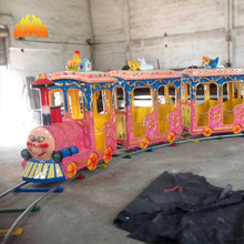 playground children game Wholesale Kiddie Rides mini Electric Track Train for sale with CE approved