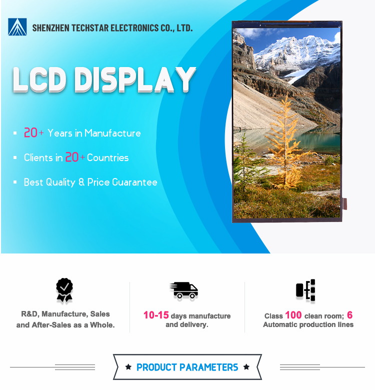 Hot Sale 720 X 1280 5.5 Inch Ips TFT Display for Smart Finance Terminals
