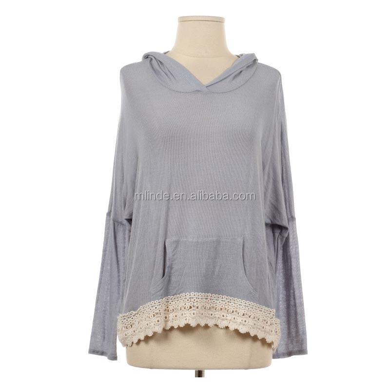 7f03a6ef9534c ملابس السيدات ل سوق أمريكا استراليا الأوروبية أزياء طويلة الأكمام البلوز  هوديي ملابس النساء بالجملة