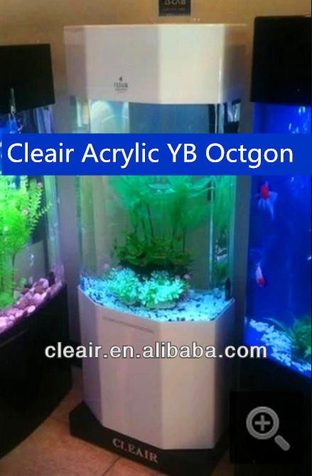 Octagon Shape Cleair Fish Tanks