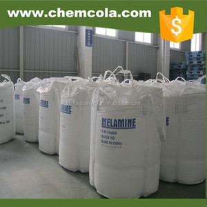 high pure melamine for glazing powder price with good price