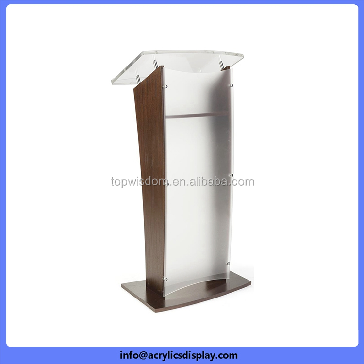 Factory Best-Selling large acrylic podium pulpit lectern