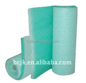 G3 G4 260GSM paint stop white and green color spray booth filter for paint booth auto factory