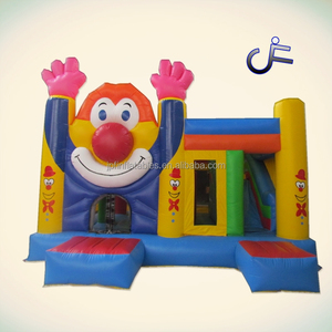 Popular Used Commercial Inflatable Jumping Bouncer combo For Sale