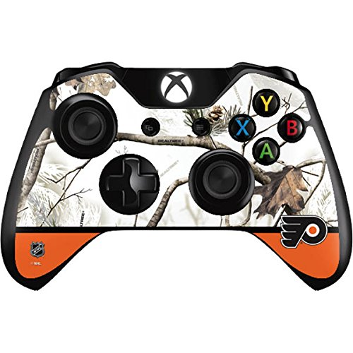 NHL Philadelphia Flyers Xbox One Controller Skin - Realtree Camo Philadelphia Flyers Vinyl Decal Skin For Your Xbox One Controller