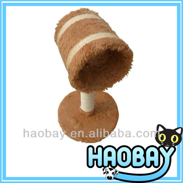 Soft Plush Lamp Shaped Cat Scratching Toy Wholesale Decorative Cat Furniture