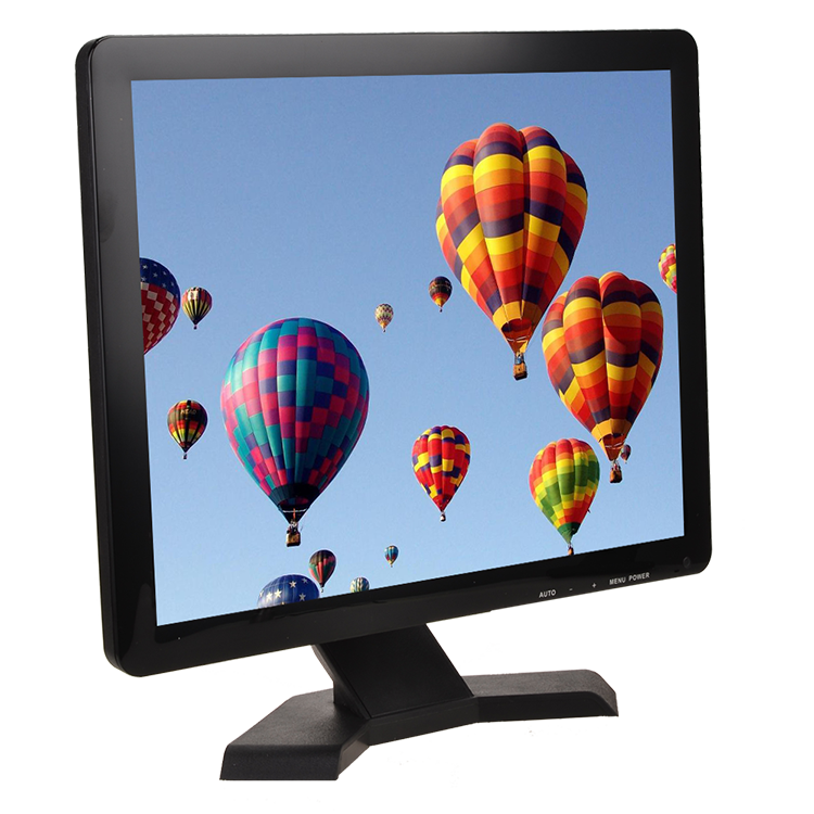 15 17 19 Inch Square LCD Color TV Wholesale Price 19 Inch LED Computer Monitor with TV