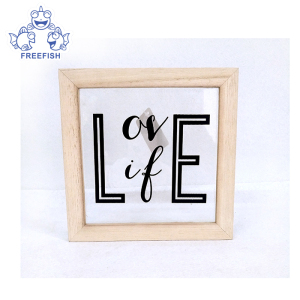 Picture frame make to display picture, Quality Wood frame glass or acrylic faceplate fix the picture on it