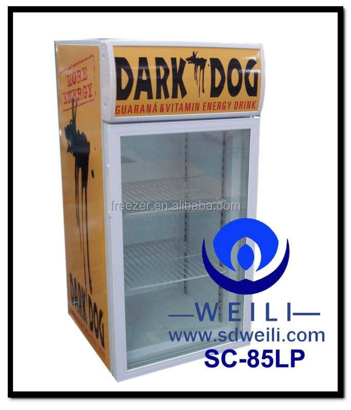 85l Desktop Mini Fridge Used Freezer Showcase With Low