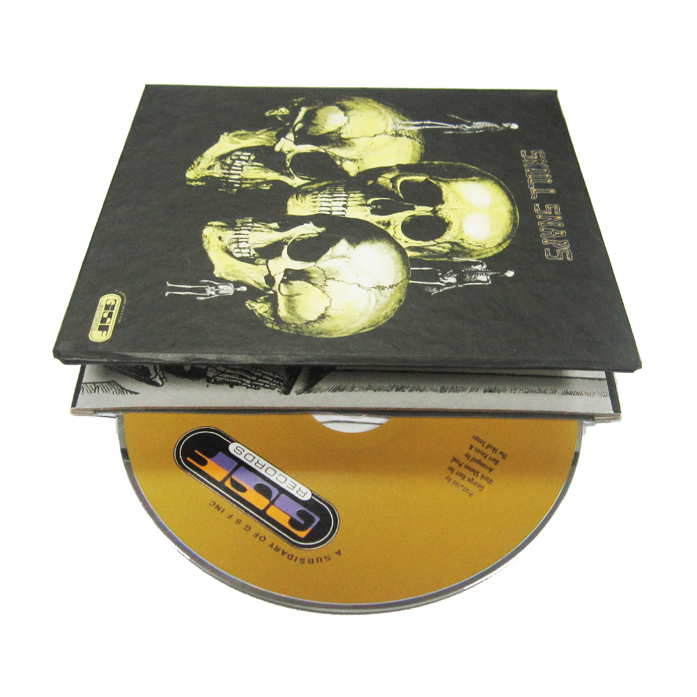 Professionele Hardcover CD/DVD Printing Replicatie met Enge Cover Decoratieve CD Groothandel