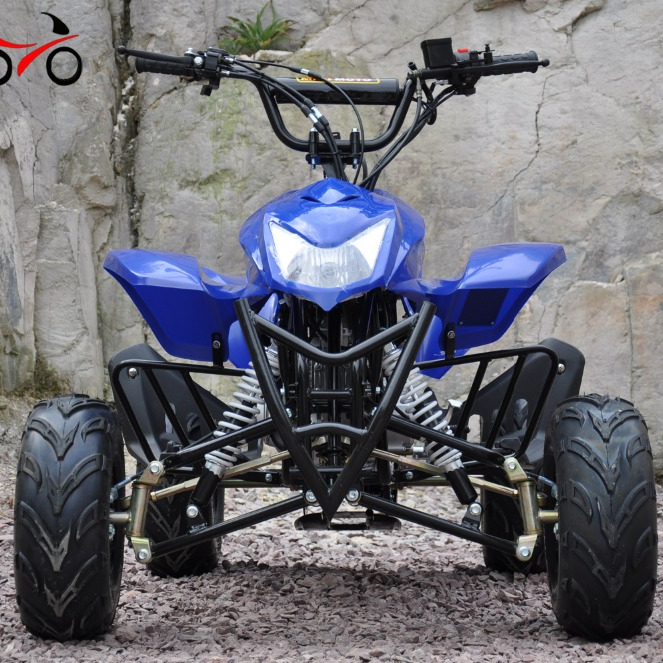 QWMOTO fabricación gasolina quad atv E-Las adulto gas 110cc 4 wheeler mini quad bike ATV para la venta barato