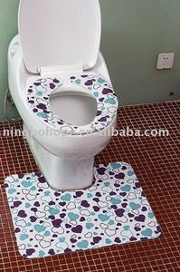 Low price self-adhesive the disposable toilet seat cover