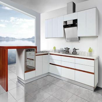 China Luxury Kitchen Customized Solid Wood Kitchen Cabinets