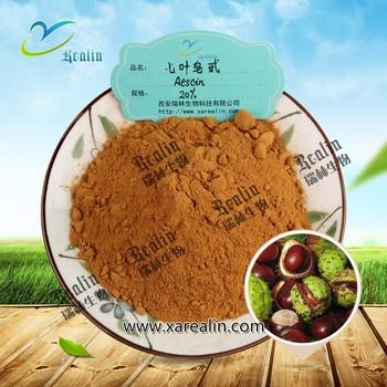 Horse Chestnut Extract 20% 98% Aescin Powder for Malaria Dysentery