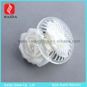 custom made tempered pressed glass cover for auto fog lamp and Signal Lamp and Tail Lamp