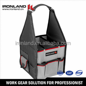 "BT-005 7"" Open top foldable garden tool bag"
