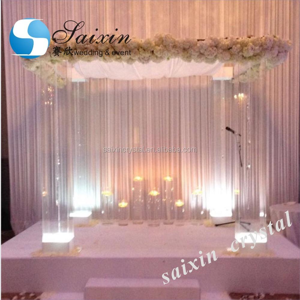 Acrylic wedding columns wholesale wedding columns suppliers alibaba junglespirit Choice Image