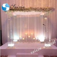 ZT-220C decoration acrylic columns for wedding mandap chuppah