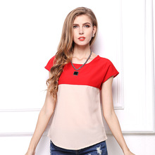 ZH0248L 2017 wholesale oem summer women blouse and tops